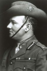 "Brigadier-General Harold ""Pompey"" Elliott: A charismatic, tempestuous leader of men."