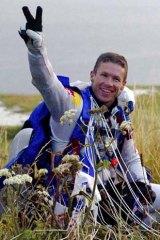 Skydiver Felix Baumgartner.