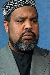 Calls for calm ... Imam Mohamed Magid.