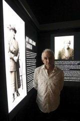 Curator Peter Doyle at the Justice & Police Museum.
