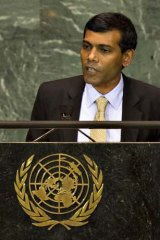Mohamed Nasheed.