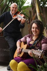 Danny and Shelley Segal, father and daughter, still share their music if not their religious beliefs.