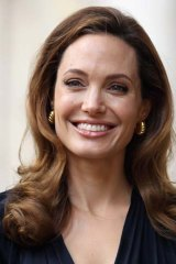 Getting in early: Angelina Jolie had a double mastectomy.