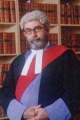 Judge Michael Finnane.