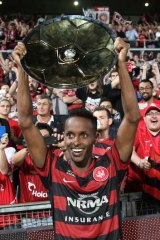 Setting the bar high: Minor Premiers the Western Sydney Wanderers.