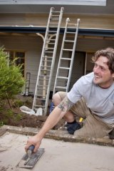 Landscaper Charlie Albone takes a clear vision of his changes into the renovation.