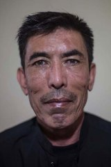 Twice a refugee: Mohammad Sarwar Hussaini.