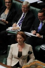 Sensitivities are high ... it is nearly one year since Kevin Rudd was ousted as Prime Minister.