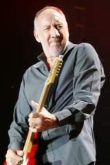 126 decibels: Pete Townshend of legendary band The Who making some noise.