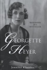 <i>Biography of a Bestseller, Georgette Heyer</i>, by Jennifer Kloester (Heinemann,$49.95).