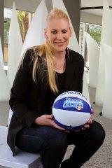 Lauren Jackson ... opening doors for women's sport in Australia.