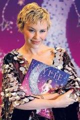 Singer Kylie Minogue wrote <i>The Showgirl Princess</i>, 2006.