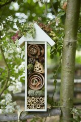 The completed insect house.