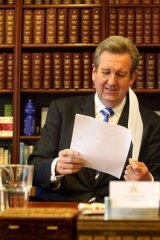 Reversed his position: Premier Barry O'Farrell.