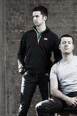 Bigcommerce founder Mitchell Harper (left) with business partner Eddie Machaalani.