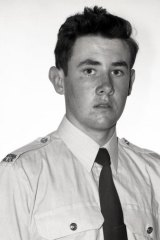 Kenneth McNeil: Dux of his class at the Police Academy in 1974.