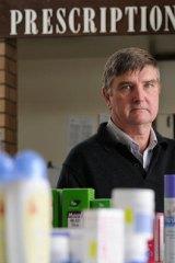 Mortlake pharmacist Stuart Baker resigned from the Pharmacy Guild of Australia after the Blackmores deal was struck.