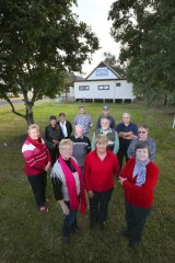 Fight … members of the Bulga Milbrodale Progress Association.