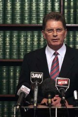 Too high-pitched?: Criticism of Ted Baillieu's speech are in no way relevant to his abilities as Premier.