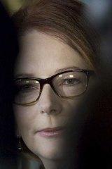Powerful woman: Julia Gillard is writing her memoir.