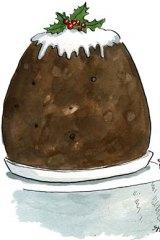 Melannie Pyzik ... the champion cake-eater gets her pud. <em>Illustration: John Shakespeare</em>