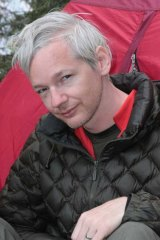 Australian-born Julian Assange, founder of Wikileaks.