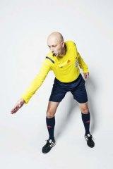 A-League referee Strebre Delovski.