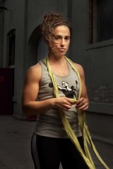 Champion boxer Bianca Elmir.