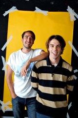 Jagwar Ma: Jono Ma (left) and Gabriel Winterfield.
