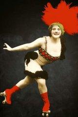Rollerskater Nellie Donegan.