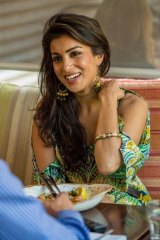 Top of the world: Pallavi Sharda says she is excited to be Melbourne's new Moomba queen.