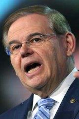 Sex allegations: US senator Robert Menendez.