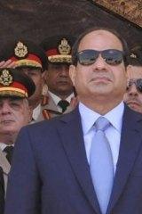 """""""We must respect the judicial rulings"""": Abdel Fattah al-Sisi."""