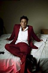 Red hot ... James Tobin poses for <em>Maxim</em>.