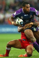 Raiders scare: Sisa Waqa has assured the Canberra club he will be in the capital in 2015.
