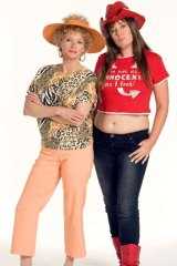 Look at me ... Kath and Kim.
