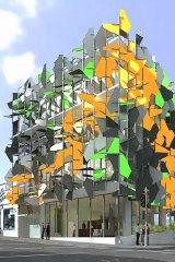 The $6 million Pixel Building.