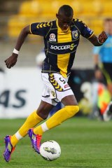 """""""Central Coast Mariners striker Bernie Ibini-Isei, is fast becoming hot property in the transfer market."""""""