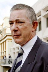 Credibility probed ... Detective Chief Inspector Peter Fox.