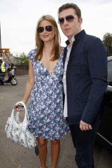 Holly Valance with boyfriend Nick Candy.