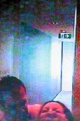 CCTV footage of Lisa Harnum and Gittany.