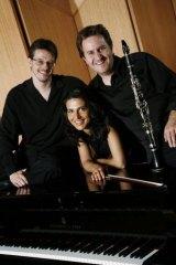 Ensemble Liaison's Timothy Young, David Griffiths and Svetlana Bogosavljevic.
