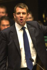 """Mike Baird ... says the carbon price would be a """"disaster""""."""