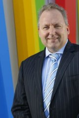 Making a financial statement: Xero chief executive Rod Drury.