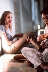 Winona Ryder with Angelina Jolie in <em>Girl, Interrupted</em>.
