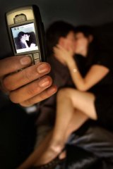 Sexting ... How can a person be charged for photographing their own body?