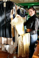 Investment dressing ... vintage clothing collector Beth Armstrong.