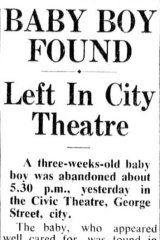 <i>The Sydney Morning Herald</i> article about his discovery in 1949.