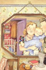 <i>Peepo!</i> illustration by Janet and Allan Ahlberg