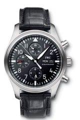 The IWC Classic Pilot's Chronograph.